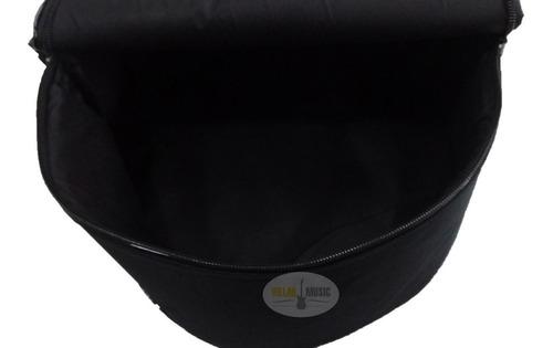 Imagem 1 de 10 de Capa Bag Para Caixa Bateria 13x8 Argola De Metal