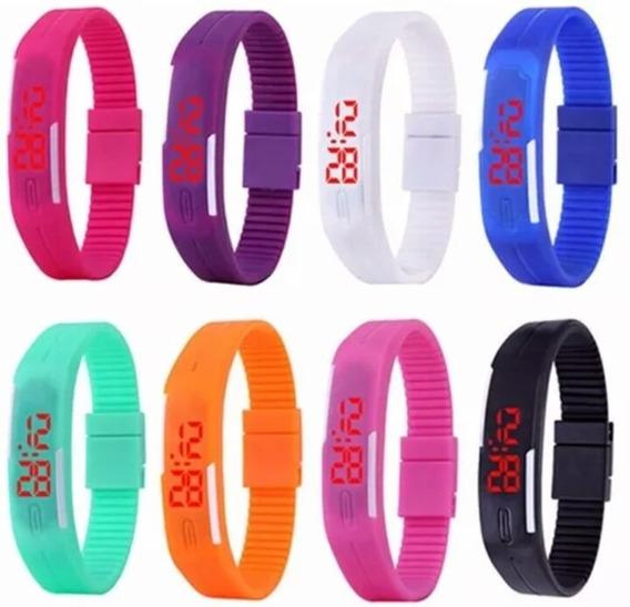 Relógio Masculino Importado De Luxo Esporte Kit Com 10