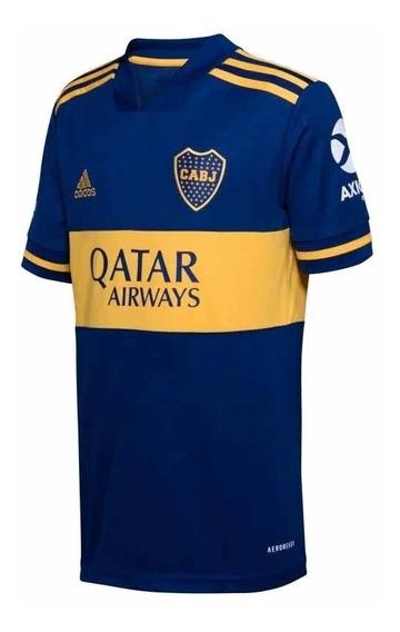 Camiseta adidas Boca Juniors 2020 Titular Niño Futbol