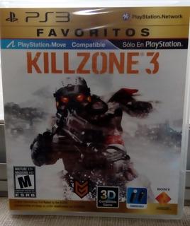 Juego Killzone 3. Para Ps3. Sellado. Metro Las Rejas