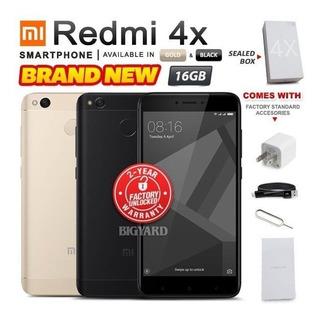 Nuevo Y Sellada De Fábrica Desbloqueado Xiaomi Redmi 4 X Oro