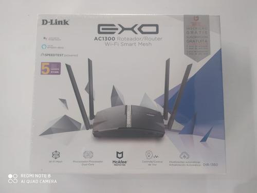 Roteador Wireless D-link Dir-1360 Exo Smart Mesh Ac1300