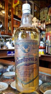 Antigua Botella Licor De Chartreux. 25932