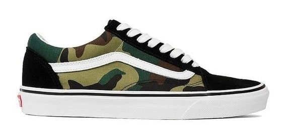 Zapatillas Vans Niño - Old Skool Camo -