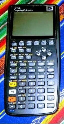 Calculadora Cientifica Hp 50g.