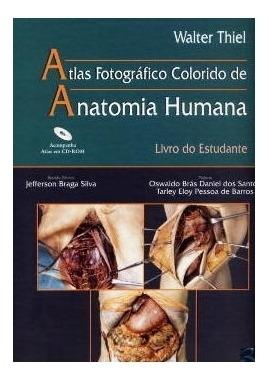 Atlas Fotografico Colorido De Anatomia Humana: Livro Do Estu