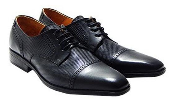 Zapatos Acordonados Verona Priamo Italy 100% Cuero