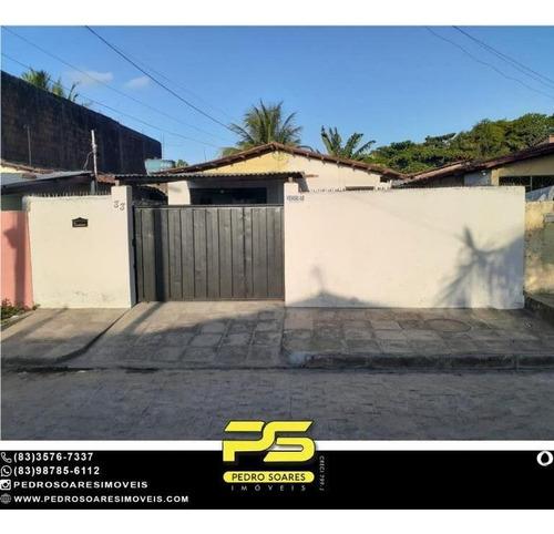 Casa Com 2 Dormitórios À Venda, 163 M² Por R$ 85.000 - Mangabeira Viii - João Pessoa/pb - Ca0963