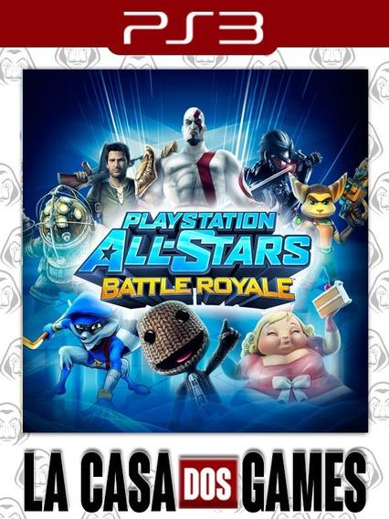 Playstation All-stars Battle Royale - Psn Ps3 - Envio Agora