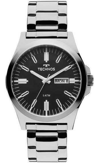 Relógio Technos Masculino Steel Prata 2305ax/1p