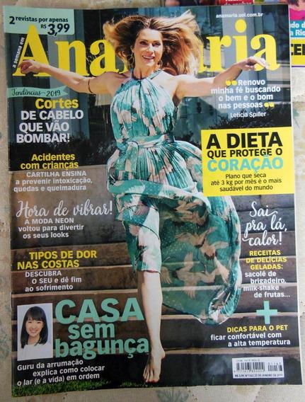 Revista Ana Maria 1163 - Letícia Spiller - 25 Janeiro 2019