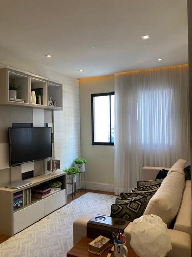 Imagem 1 de 30 de Rrcod3555 Apartamento 53m² Condomínio Viva Mais Barueri - 2 Dorms - 1 Vaga - Oportunidade - Ótima Localização - Rr3555 - 69487927
