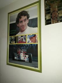 Poster E Quadro Do Ayrton Senna1994