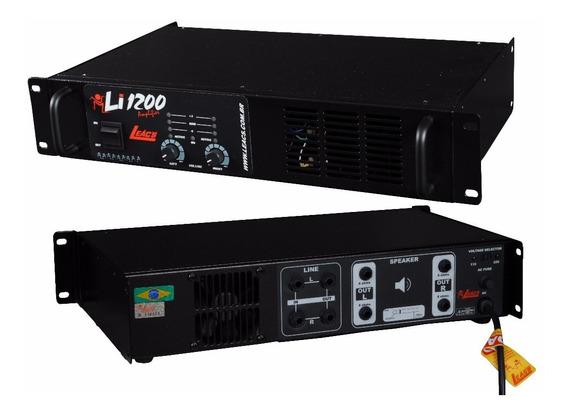 Amplificador De Potência Leac