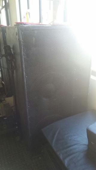 Caixa De Som Para Rave 2 Falante De 15 Shansonic 1000w