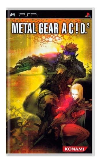 Jogo Metal Gear Acid 2 - Psp