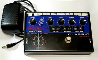 Pedal Valvular Overdrive Distorsion Classic Radial Tonebone