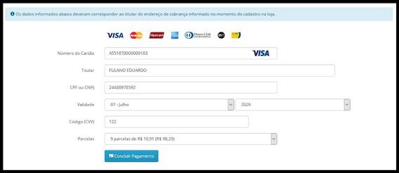 Mercado Pago Transparente Para Opencart 2.3 E 3.x