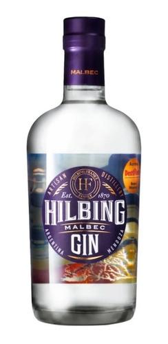 Imagen 1 de 10 de Gin Hilbing Malbec 750 Ml. Microcentro. Envíos.