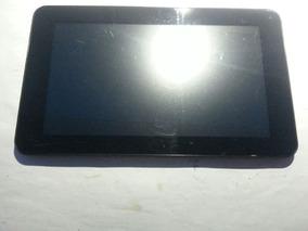Frontal Completa Tablet Cce Tr71 Preto - Funcionando