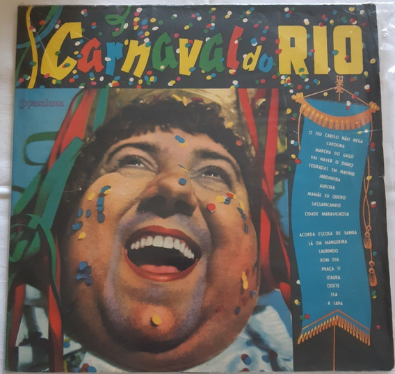 Lp - Carnaval Do Rio - 1969 - Vinil