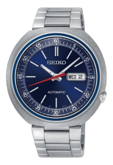 Relógio Seiko Srpc09k1 Recraft Ufo Automático Azul 100m