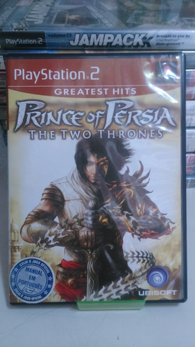 Jogo Ps2 Prince Of Persia The Two Thrones Original