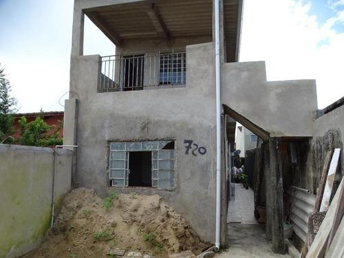 Sobrado Com 4 Dormitórios À Venda, 125 M² Por R$ 180.000 - Jussara - Mongaguá/sp - So0086