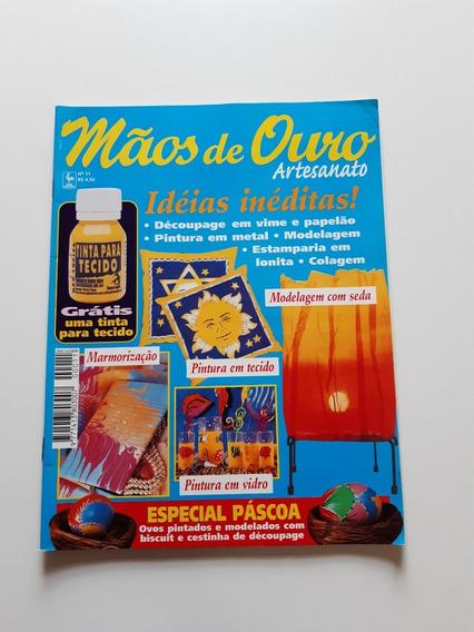 Revista Mãos De Ouro Artesanato Pintura Modelagem D702