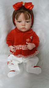 Bebê Reborn - Recém Nascida Andie