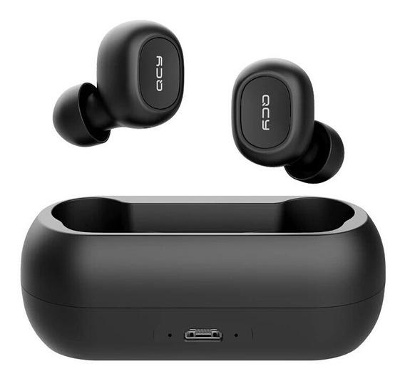 Fone De Ouvido Bluetooth Estereo Sem Fio Com Microfone Duplo
