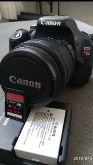 Canon T3i + Lente 18-55mm. 18mpx E Full Hd