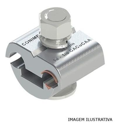 Conector Bimetalico Cabo Aluminio Cobre 10 A 70mm Com 15 Pçs