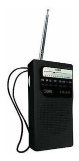 Radio Am Fm Coby Cr-203 A Pilas Portable Altavoz De Bolsillo