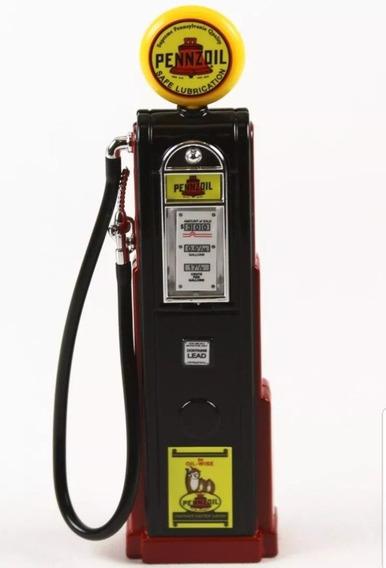 Bomba De Gasolina Pennzoil Gas Pump Yatming 1:18 1/18
