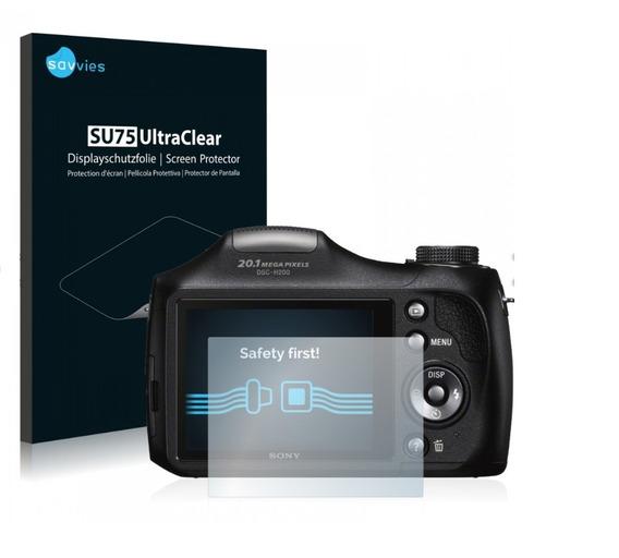 Pelicula Protetor Lcd Alemã Para Câmera H300 Sony