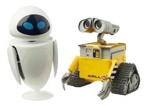 Figura Articulada Disney Pixar Monstros Sa Wall E Eve Mattel