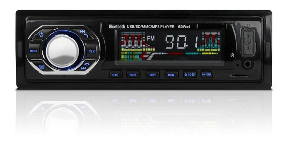 Radio Para Carro Bluetooth Usb Sd Mp3 Aux