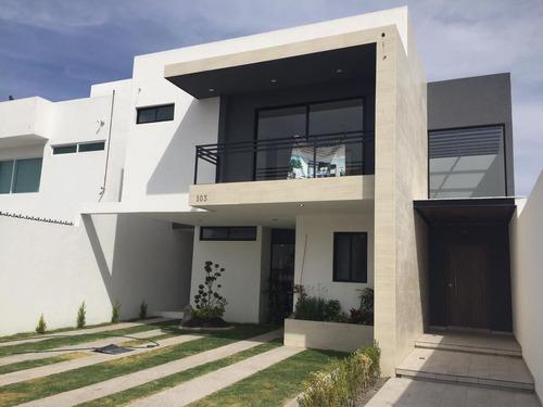 Imagen 1 de 28 de Casa Con Jardin Y Terraza Real De Juriquilla