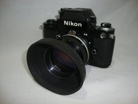 Antiga Camera Nikon Lente 50mm 1:1.4