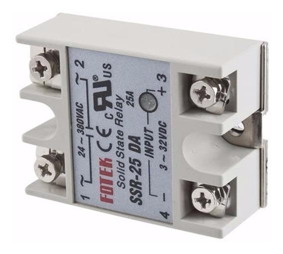 Relé De Estado Sólido Ssr-25 Da Eletrônico