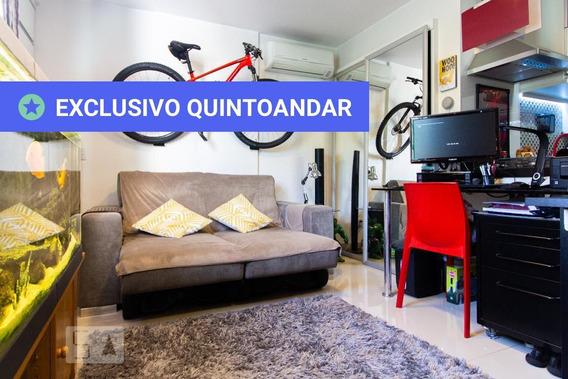 Apartamento No 5º Andar Com 1 Dormitório E 1 Garagem - Id: 892937565 - 237565
