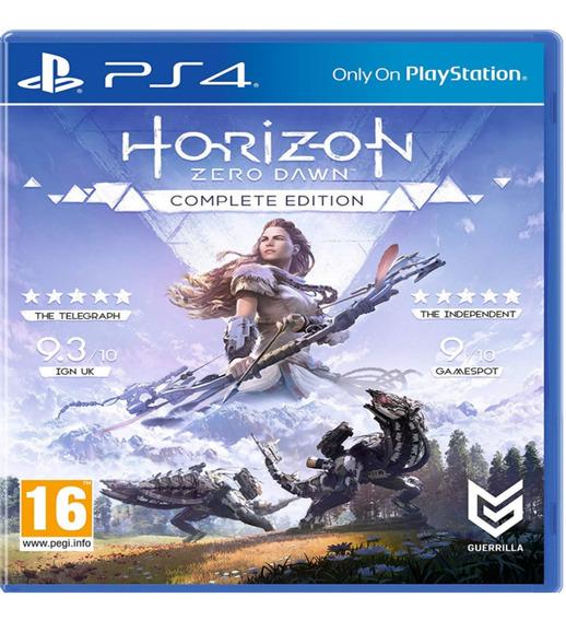 Horizon Zero Dawn Ps4 Complete Edition Mídia Física Lacrado!