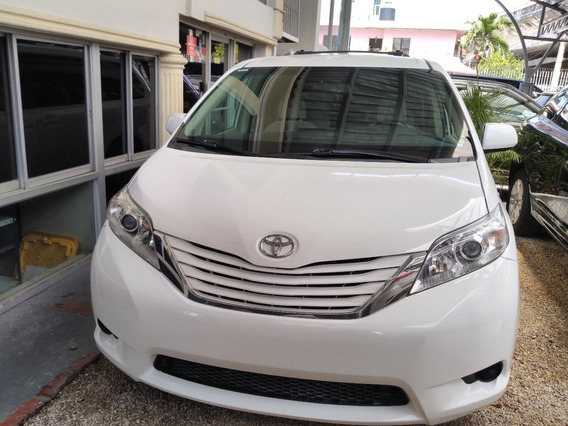 Toyota Sienna Blanca Le 2015 En Oferta Clean Carfax