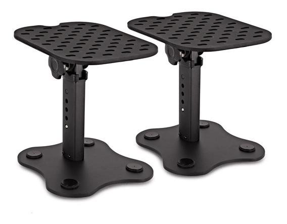 Par Mini Pedestal,suporte,mesa P/ Monitor De Referência Krk