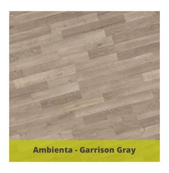 Ambienta Garrison Gray, Piso Laminado Alta Calidad, Garantía