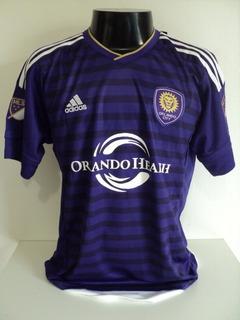 Camisa Orlando City Home 15-16 Kaká 10 Patch Mls Importada