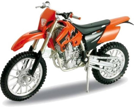 Moto Ktm 525 Exc Cross Coleccion Esc1:18 Metal Megacuisi