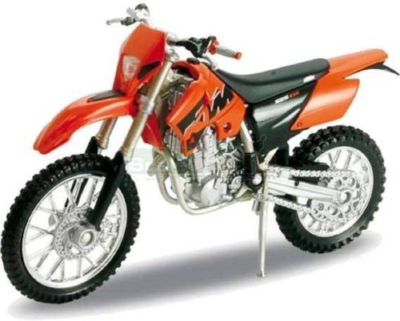 Moto Ktm 525 Exc Cross Coleccion Esc1:18 Metal Megacuisi