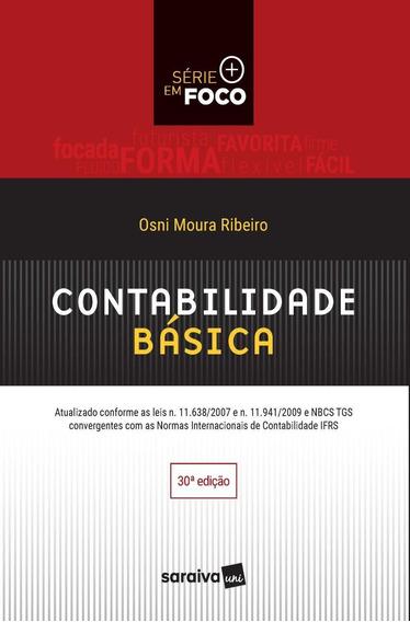 Contabilidade Básica Série Em Foco - 30ª Ed. 2017